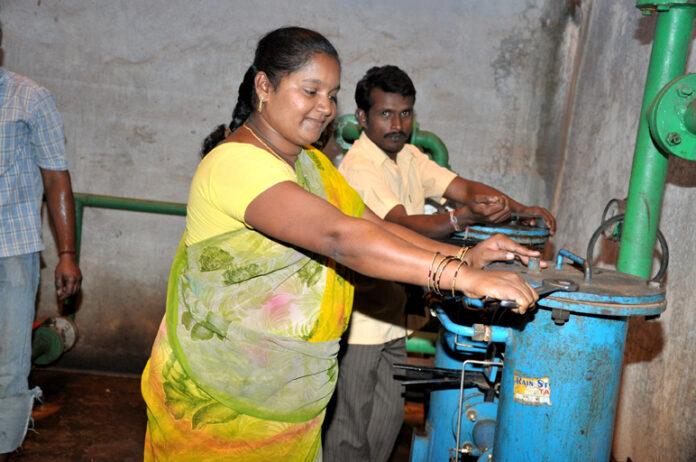 rural women make hydropower