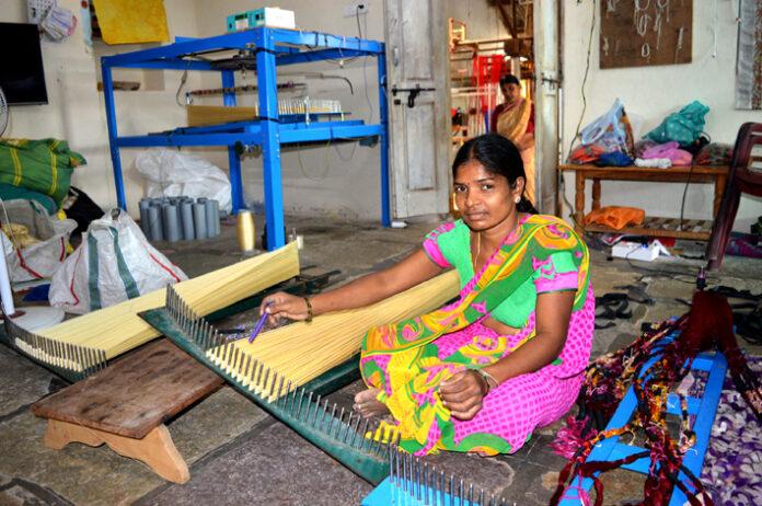 Weaving a success story in telangana