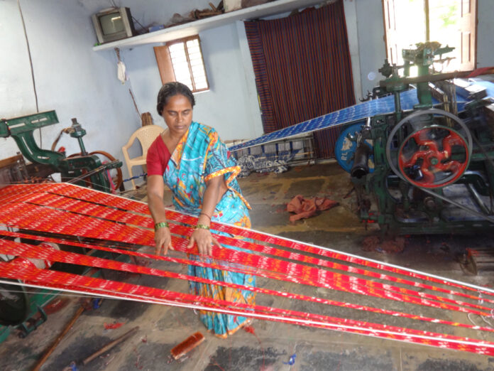 How an Ikat is Made