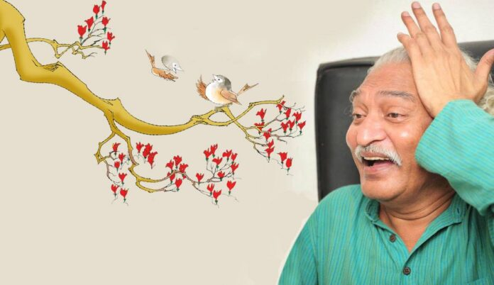 This famous Indian cartoonist and illustrator was best known for his creation