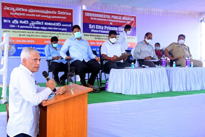 Public opinion on 2nd phase Sricity sez development