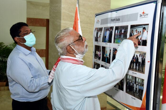 Vivekananda Kendra President visits Sri City